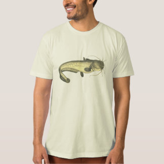 Vintage Catfish Illustration T-Shirt