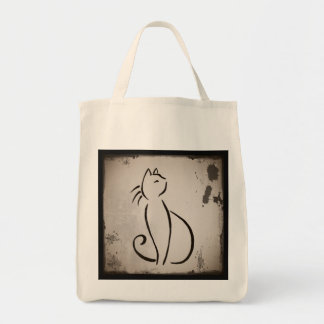 Vintage Cat's Whiskers Tote