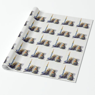 Vintage Cats Wrapping Paper