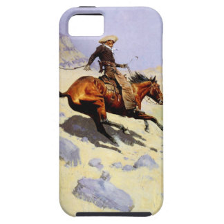 Vintage Cavalry Military, The Cowboy by Remington Case For The iPhone 5