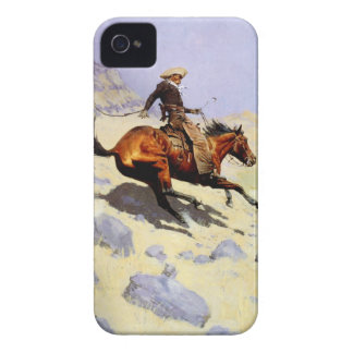 Vintage Cavalry Military, The Cowboy by Remington Case-Mate iPhone 4 Case