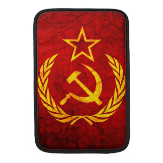 Vintage CCCP flag MacBook Air Sleeves