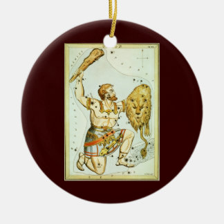 Vintage Celestial Astronomy, Orion Constellation Christmas Ornament