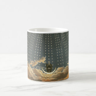 Vintage Celestial Astronomy, Queen of the Night Coffee Mug