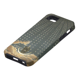 Vintage Celestial Astronomy, Queen of the Night iPhone 5 Cover