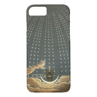 Vintage Celestial Astronomy, Queen of the Night iPhone 8/7 Case