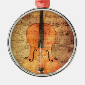 Vintage Cello Christmas Ornament