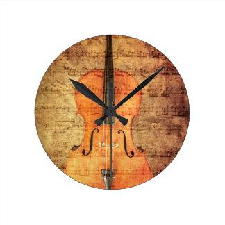 Vintage Cello Clocks
