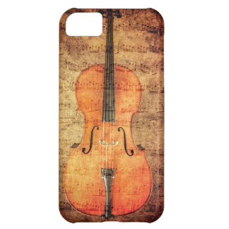 Vintage Cello iPhone 5C Case