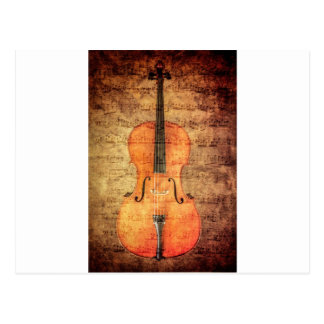 Vintage Cello Postcard