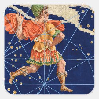 Vintage Cephus Star Chart Stickers