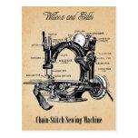 Vintage Chain-Stitch Sewing Machine