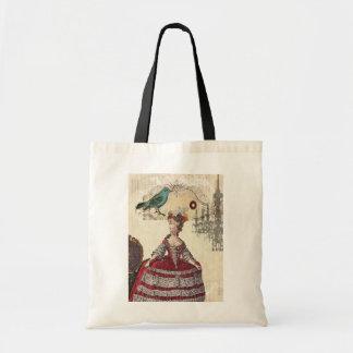 Vintage Chandelier french queen  Marie Antoinette Tote Bag