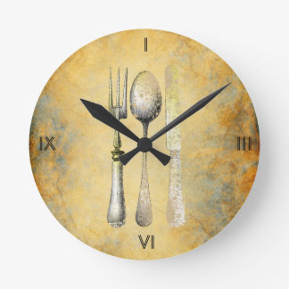 Vintage Charm Kitchen Clock