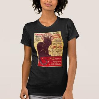 Vintage Chat Noir, Vente Hôtel Drouot Steinlen T Shirt