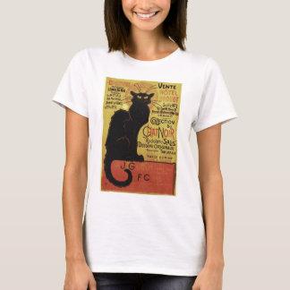 Vintage Chat Noir, Vente Hôtel Drouot Steinlen T-Shirt