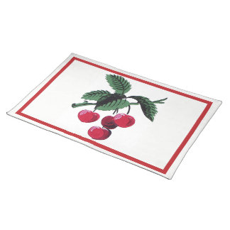Vintage Cherries Placemat