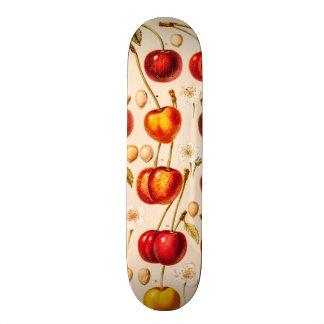 Vintage Cherry Varieties Antique Cherries Fruit Skate Board Decks