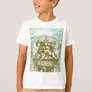 Vintage Cherub Fountain Save the Date Design T-Shirt