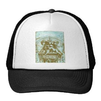 Vintage Cherub Save the Date Design Hat