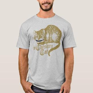 Vintage Cheshire Cat Illustration T-Shirt