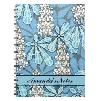 Vintage Chestnut Tree Notebooks