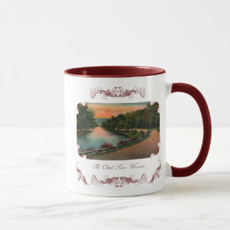 Vintage Chetek River Wisconsin Coffee Mug