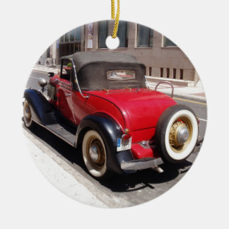 Vintage Chevrolet Round Ceramic Decoration