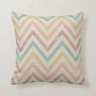 Vintage Chevron Pattern Pillow