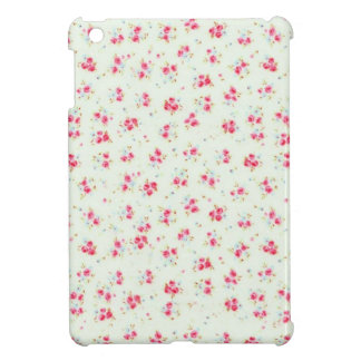Vintage chic floral roses pink shabby rose flowers case for the iPad mini