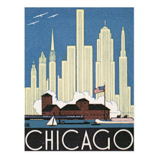 Vintage Chicago Illinois Postcard