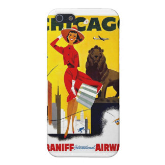 Vintage Chicago Poster Case For The iPhone 5