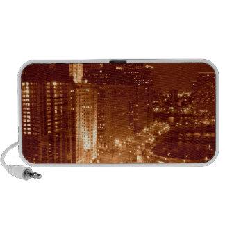 Vintage Chicago River Mp3 Speakers