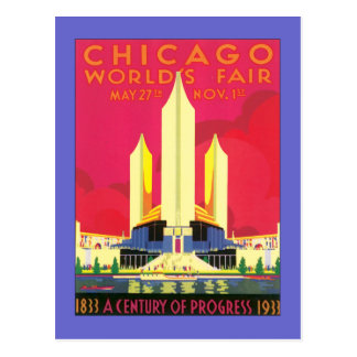 Vintage Chicago World s Fair Post Cards