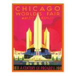 Vintage Chicago World's Fair Postcard