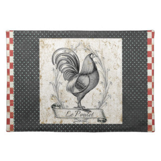 Vintage Chicken Place Mats