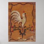 Vintage Chicken Poster