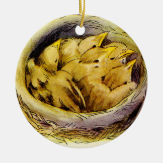 Vintage Chicks Christmas Ornament
