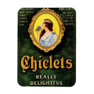 Vintage Chiclets Ad Rectangular Photo Magnet