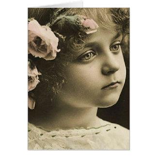 vintage child card