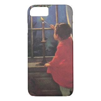 Vintage Child, Christmas Eve, Jessie Willcox Smith iPhone 7 Case