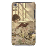 Vintage Child Reading a Book, Jessie Willcox Smith Barely There iPod Covers