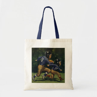 Vintage Children, Boys Playing Football, Sports Bag