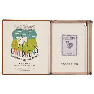 Vintage Children's Art custom cases iPad Folio Case