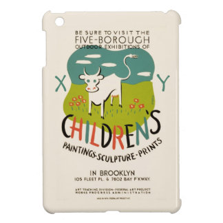Vintage Children's Art custom cases iPad Mini Covers