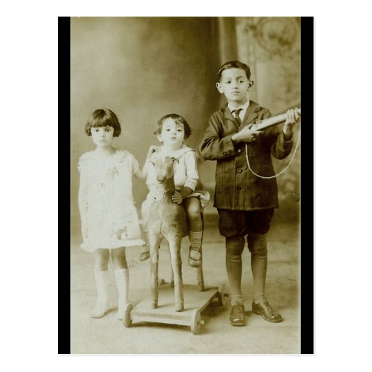 Vintage Childrens Postcard