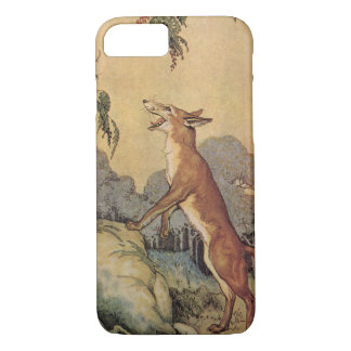 Vintage Children's Story Book, Aesop's Fables iPhone 7 Case
