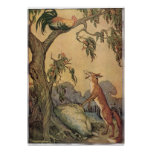 Vintage Children's Story Book, Aesop's Fables Poster