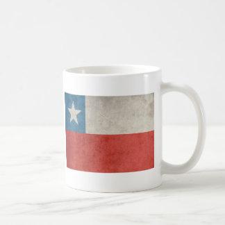 Vintage Chile Flag Coffee Mug