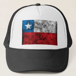 Vintage Chile Flag Trucker Hat